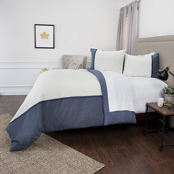Rizzy Home Wilmington Mill 3-pc. Duvet Cover Set