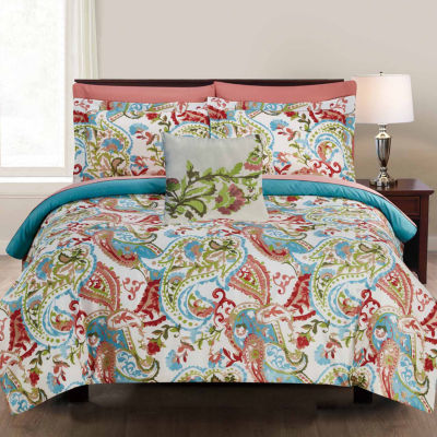Pacific Coast Textiles 8-pc. Complete Bedding Set with Sheets