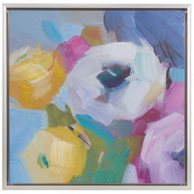 Madison Park Nosegay Bouquet Hand Embellished Canvas