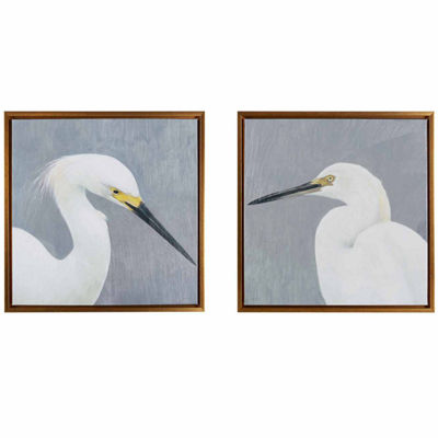 Madison Park Seabird Thoughts Heavy Gel Coat Canvas
