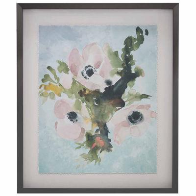 Madison Park Winter Bouquet 1 Frame Art