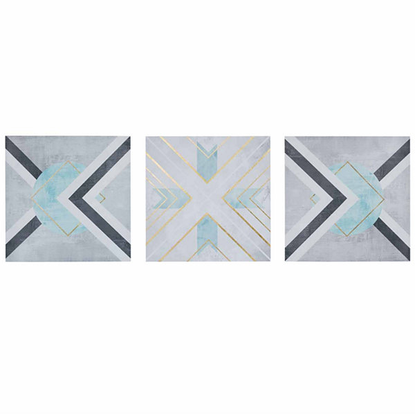 Urban Habitat Axis Printed Canvas 3 Pc Set