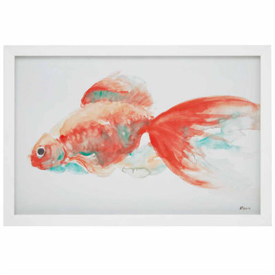 Urban Habitat Gilbert Goldfish Frame Art