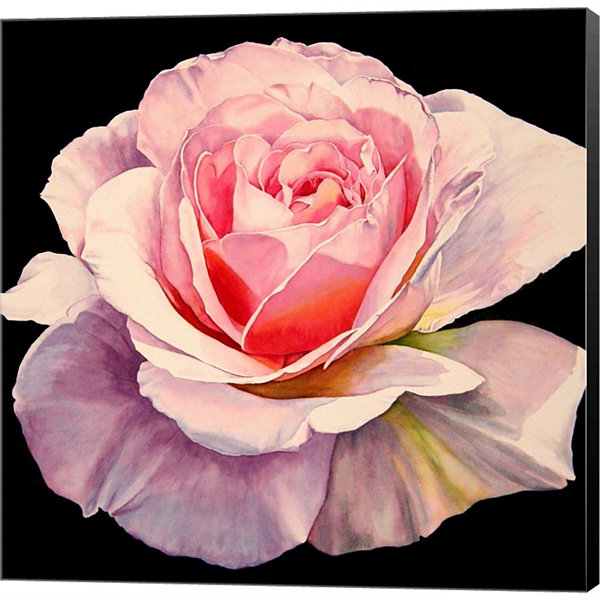 Metaverse Art 1 Rose Romantica Gallery Wrapped Canvas Wall Art