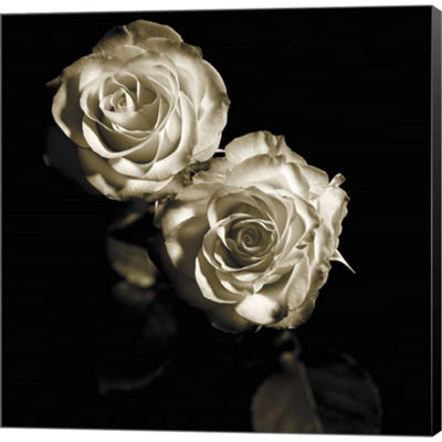 Metaverse Art Circus Roses Gallery Wrapped CanvasWall Art