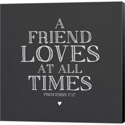 Metaverse Art A Friend Loves At All Times GalleryWrapped Canvas Wall Art