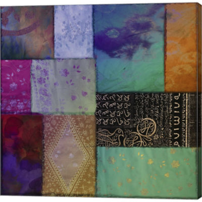 Afrikan Batik I Gallery Wrapped Canvas Wall Art OnDeep Stretch Bars