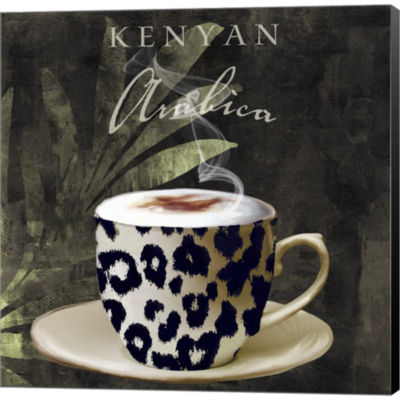 Metaverse Art Afrikan Coffee I Gallery Wrapped Canvas Wall Art