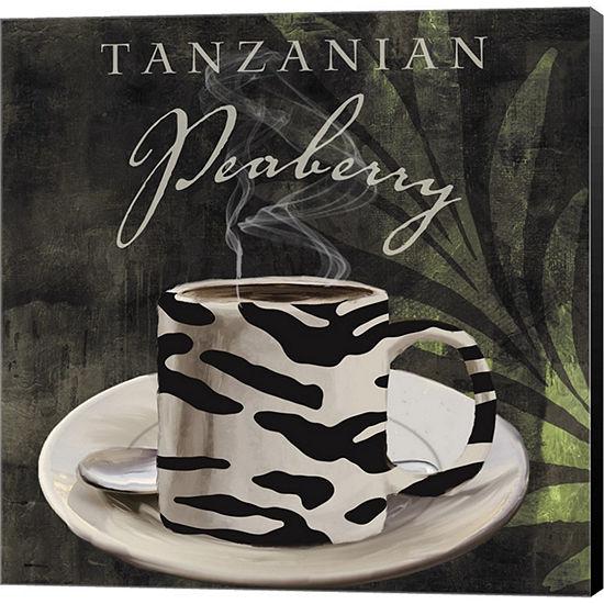 Metaverse Art Afrikan Coffee II Gallery Wrapped Canvas Wall Art