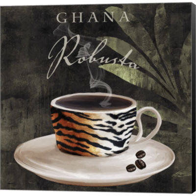 Afrikan Coffee IV Gallery Wrapped Canvas Wall ArtOn Deep Stretch Bars