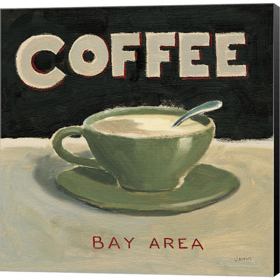 Metaverse Art Coffee Spot III Gallery Wrapped Canvas Wall Art