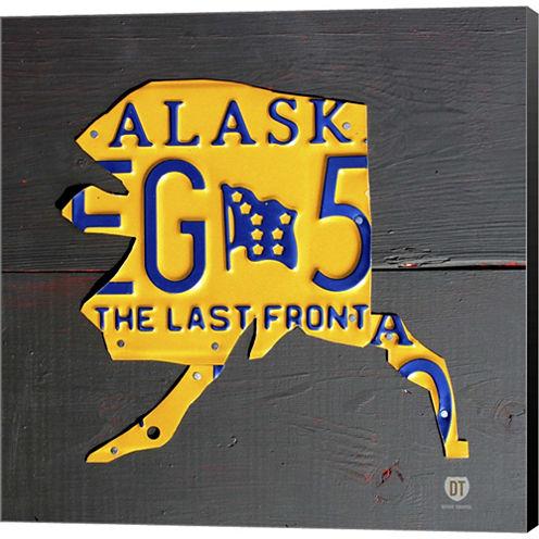 Alaska Gallery Wrapped Canvas Wall Art On Deep Stretch Bars