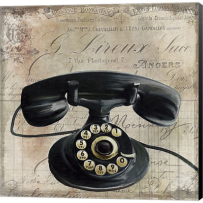 Call Waiting II Gallery Wrapped Canvas Wall Art OnDeep Stretch Bars