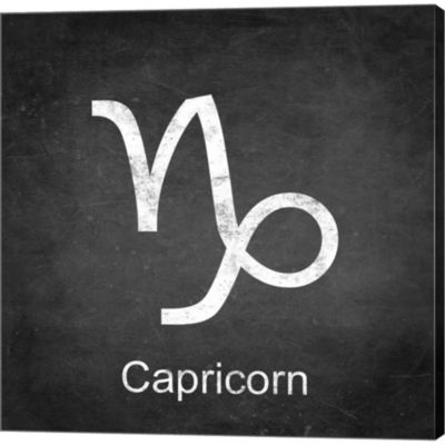 Metaverse Art Capricorn Gallery Wrapped Canvas Wall Art On DeepStretch Bars