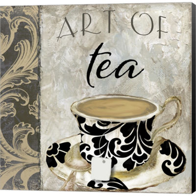 Metaverse Art Art Of Tea I Gallery Wrapped CanvasWall Art