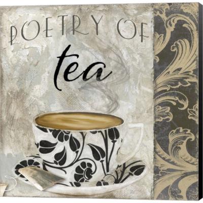 Metaverse Art Art Of Tea II Gallery Wrapped CanvasWall Art