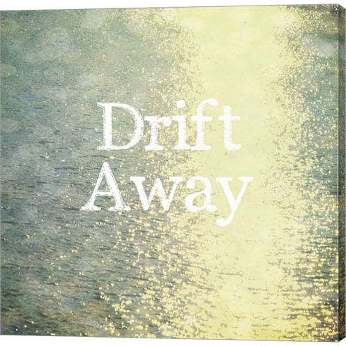 Drift Away Gallery Wrapped Canvas Wall Art On DeepStretch Bars