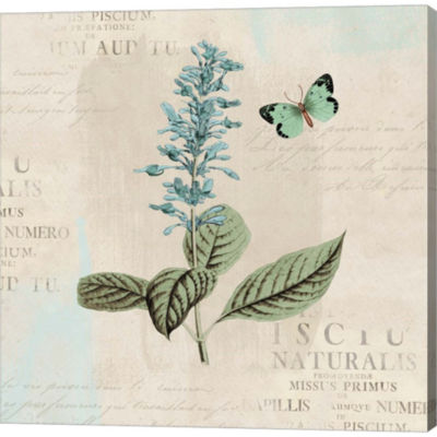 Metaverse Art En Bleu VI Gallery Wrapped Canvas Wall Art