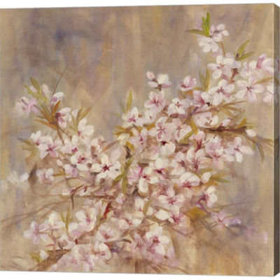 Metaverse Art Cherry Blossom I Gallery Wrapped Canvas Wall Art