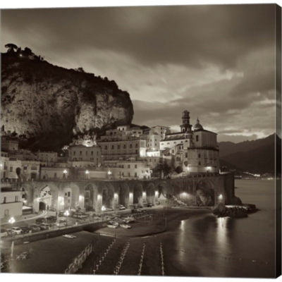 Metaverse Art Atrani I Gallery Wrapped Canvas WallArt