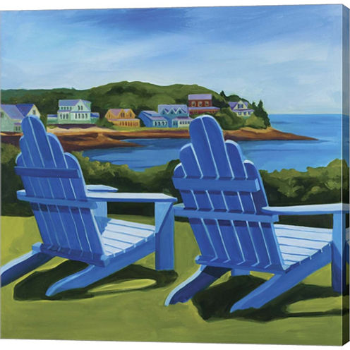 East Boothbay Gallery Wrapped Canvas Wall Art On Deep Stretch Bars