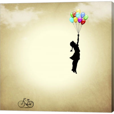 Balloon Gallery Wrapped Canvas Wall Art On Deep Stretch Bars