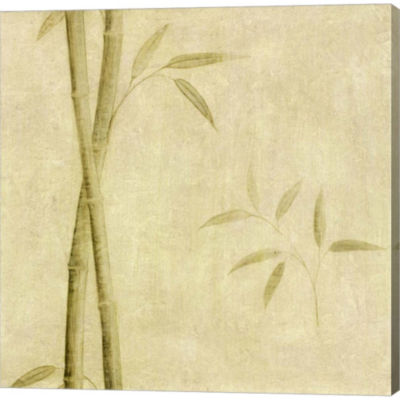 Metaverse Art Bamboo Shoots Gallery Wrapped CanvasWall Art