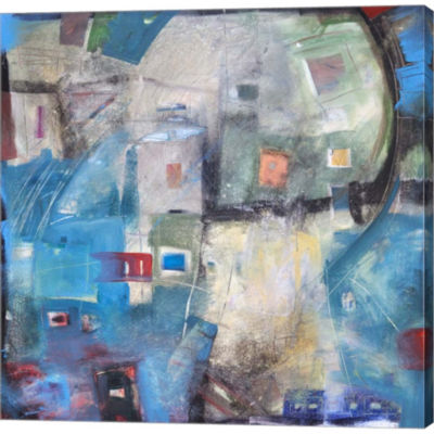 Metaverse Art Bayer Works Wonders Gallery WrappedCanvas Wall Art