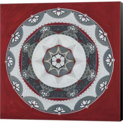 Everything Mandala Gallery Wrapped Canvas Wall ArtOn Deep Stretch Bars