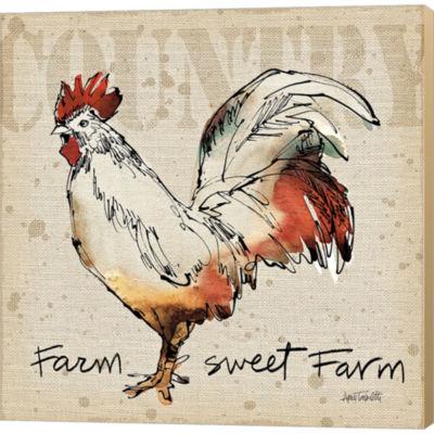 Metaverse Art Farm Life V Gallery Wrapped Canvas Wall Art