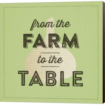 Metaverse Art Farm To Table II Gallery Wrapped Canvas Wall Art