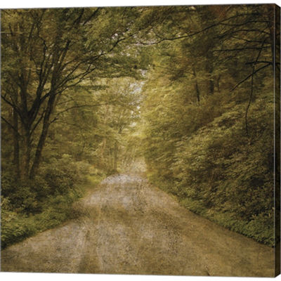 Metaverse Art Flannery Fork Road No. 1 Gallery Wrapped Canvas Wall Art