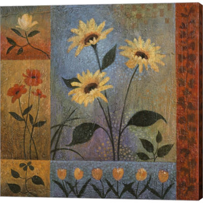 Metaverse Art Floral Rhapsody II Gallery Wrapped Canvas Wall Art