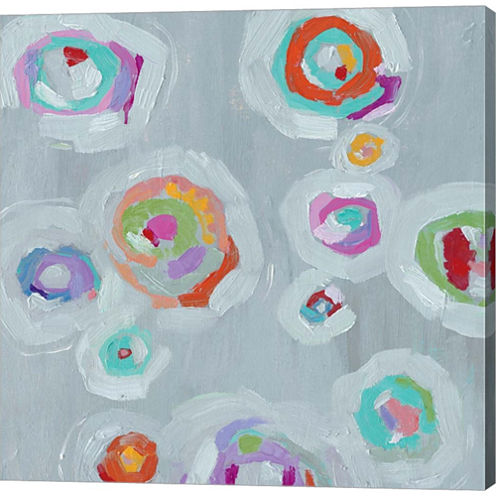 Frolic II Crop Gallery Wrapped Canvas Wall Art OnDeep Stretch Bars