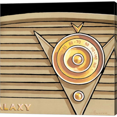 Metaverse Art Galaxy Radio Gallery Wrapped Canvas Wall Art On Deep Stretch Bars