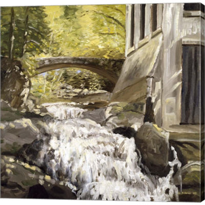 Metaverse Art Gatineau Park Ruins Gallery WrappedCanvas Wall Art