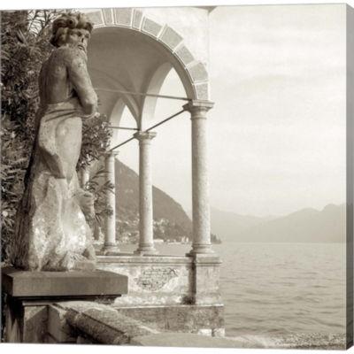 Metaverse Art Giardini Italiano IV Gallery WrappedCanvas Wall Art