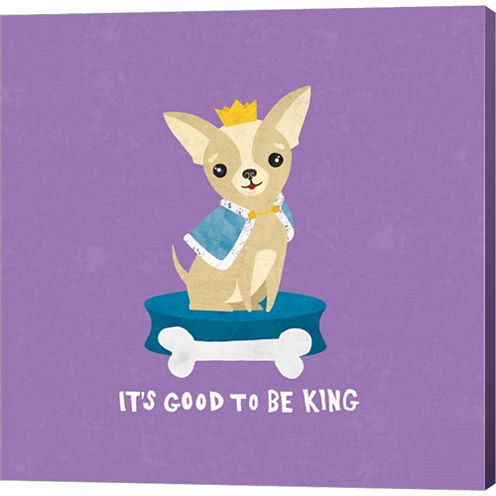 Good Dogs Chihuahua Bright Gallery Wrapped CanvasWall Art On Deep Stretch Bars