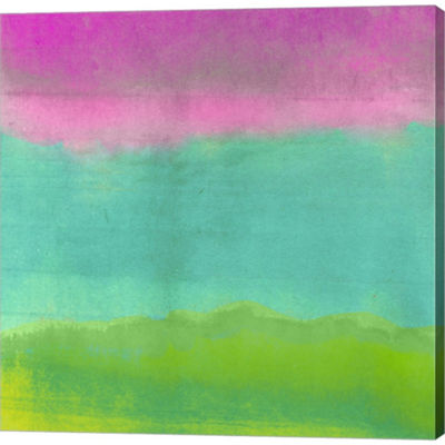 Metaverse Art Gradients I Gallery Wrapped Canvas Wall Art