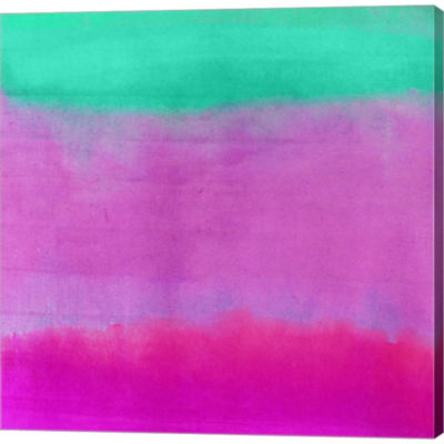 Metaverse Art Gradients IV Gallery Wrapped CanvasWall Art