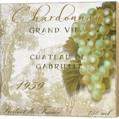 Metaverse Art Grand VIn Chardonnay Gallery WrappedCanvas Wall Art