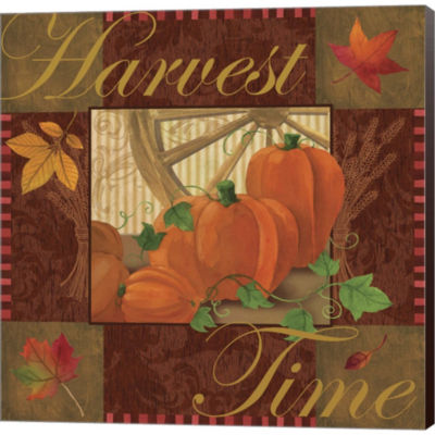 Metaverse Art Harvest Time I Gallery Wrapped Canvas Wall Art