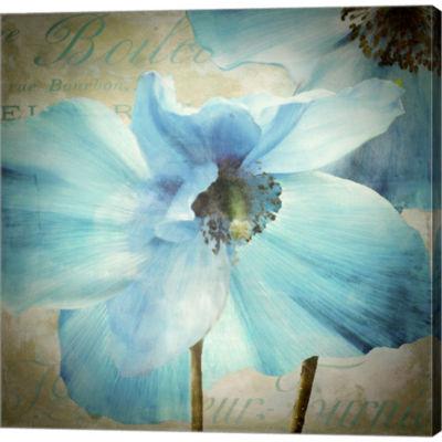 Metaverse Art Himalayan Blue Ii Gallery Wrapped Canvas Wall Arton Deep Stretch Bars