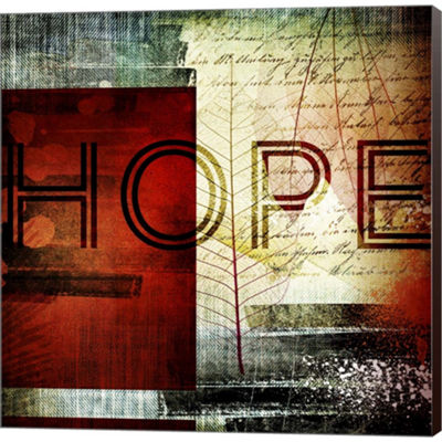 Metaverse Art Hope Gallery Wrapped Canvas Wall Art