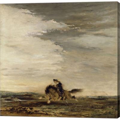 Metaverse Art Horseman Gallery Wrapped Canvas WallArt