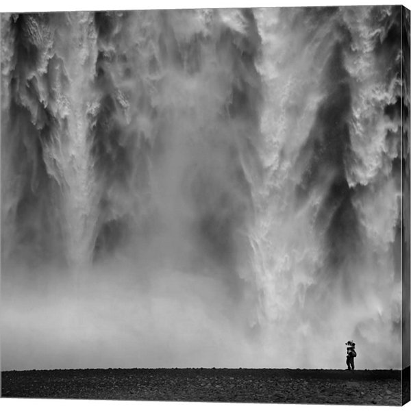 Metaverse Art Iceland II Gallery Wrapped Canvas Wall Art