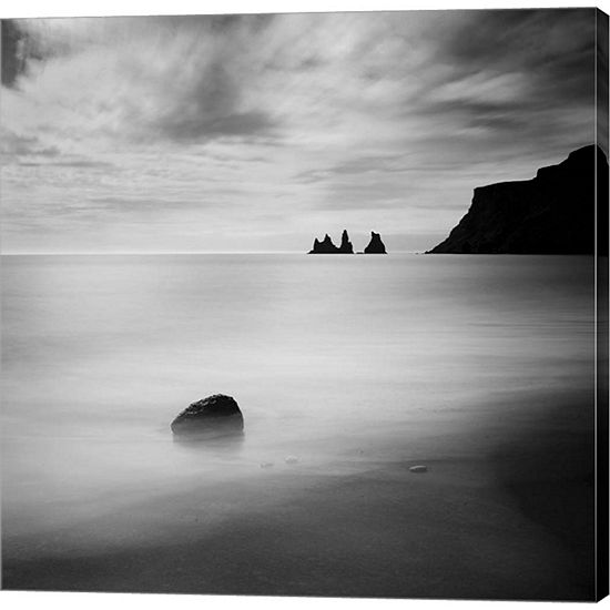 Metaverse Art Iceland VIk Gallery Wrapped Canvas Wall Art