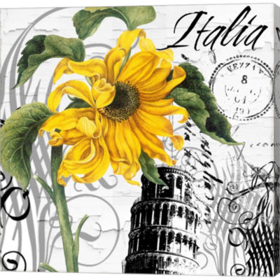 Metaverse Art Italia I Gallery Wrapped Canvas WallArt