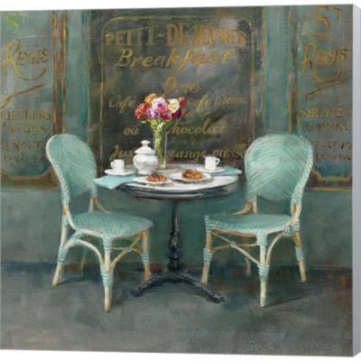 Metaverse Art Joy Of Paris II Gallery Wrapped Canvas Wall Art