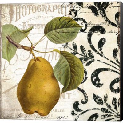Metaverse Art Les Fruits Jardin I Gallery WrappedCanvas Wall Art